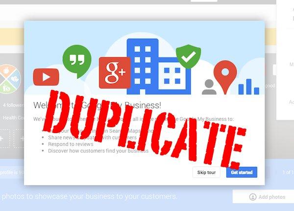 Delete Duplicate Google Plus Listing