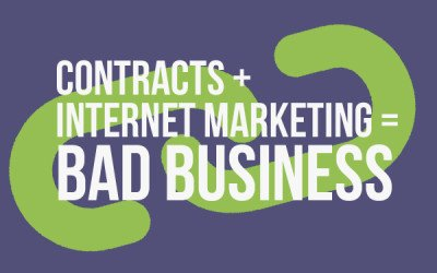 Why Contracts For Internet Marketing Services Are Not A Good Idea