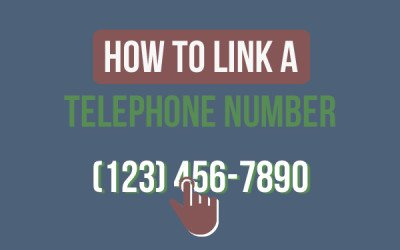 How To Link A Telephone Number