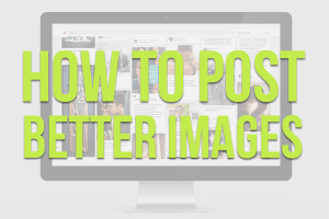 How to Post Better Images Icon