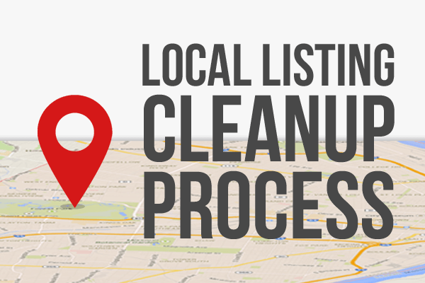 Local Listing Cleanup Process Icon