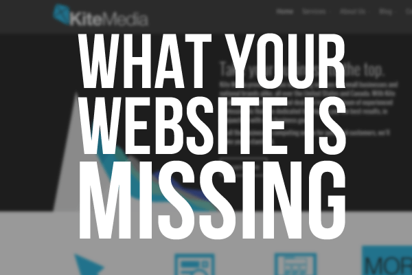 What Your Website is Missing