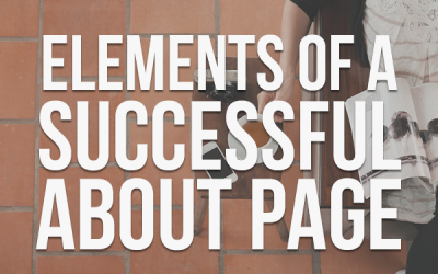Elements of a Successful About Page