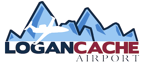 Logan-Cache Airport logo Kite Media project