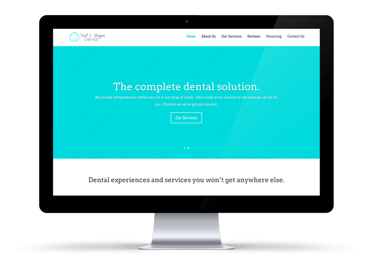 Ford & Draper Dental Website Design Logan, Utah