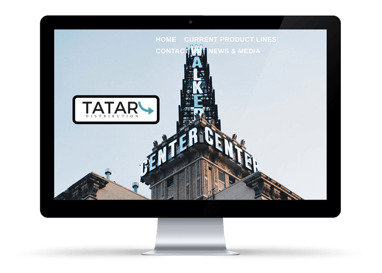 Tatar Distribution Website Design Service Logan, UT