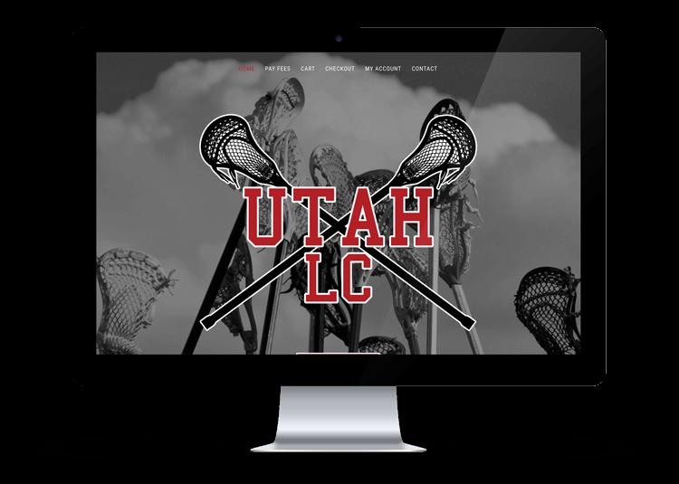 Utah LAX Club Web Design by Kite Media