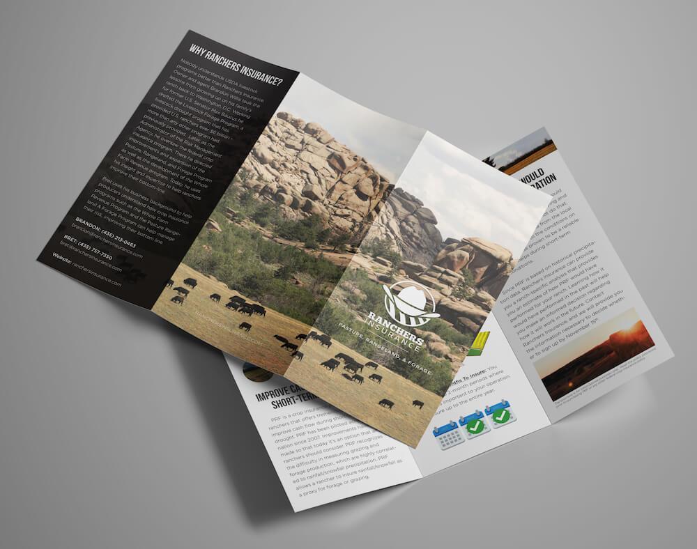 Ranchers Insurance Brochure Design Project