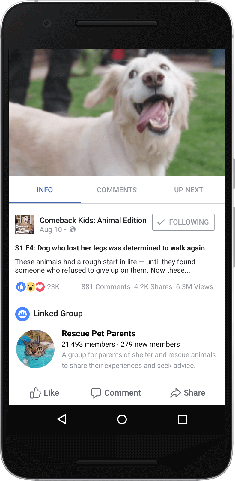 Facebook Watch Show Example