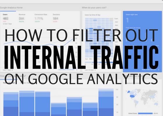 filter internal traffic analytics