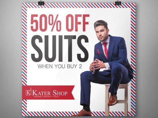 Kater Shop Banner Design
