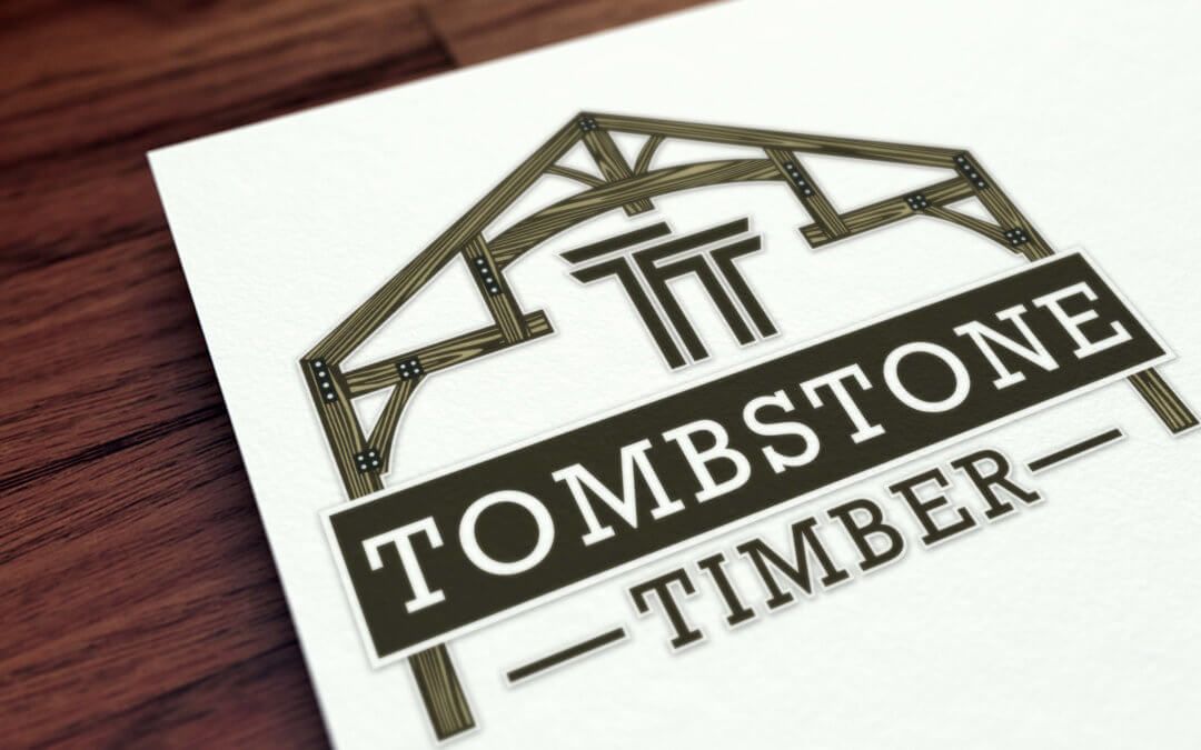 Tombstone Timber Logo Design