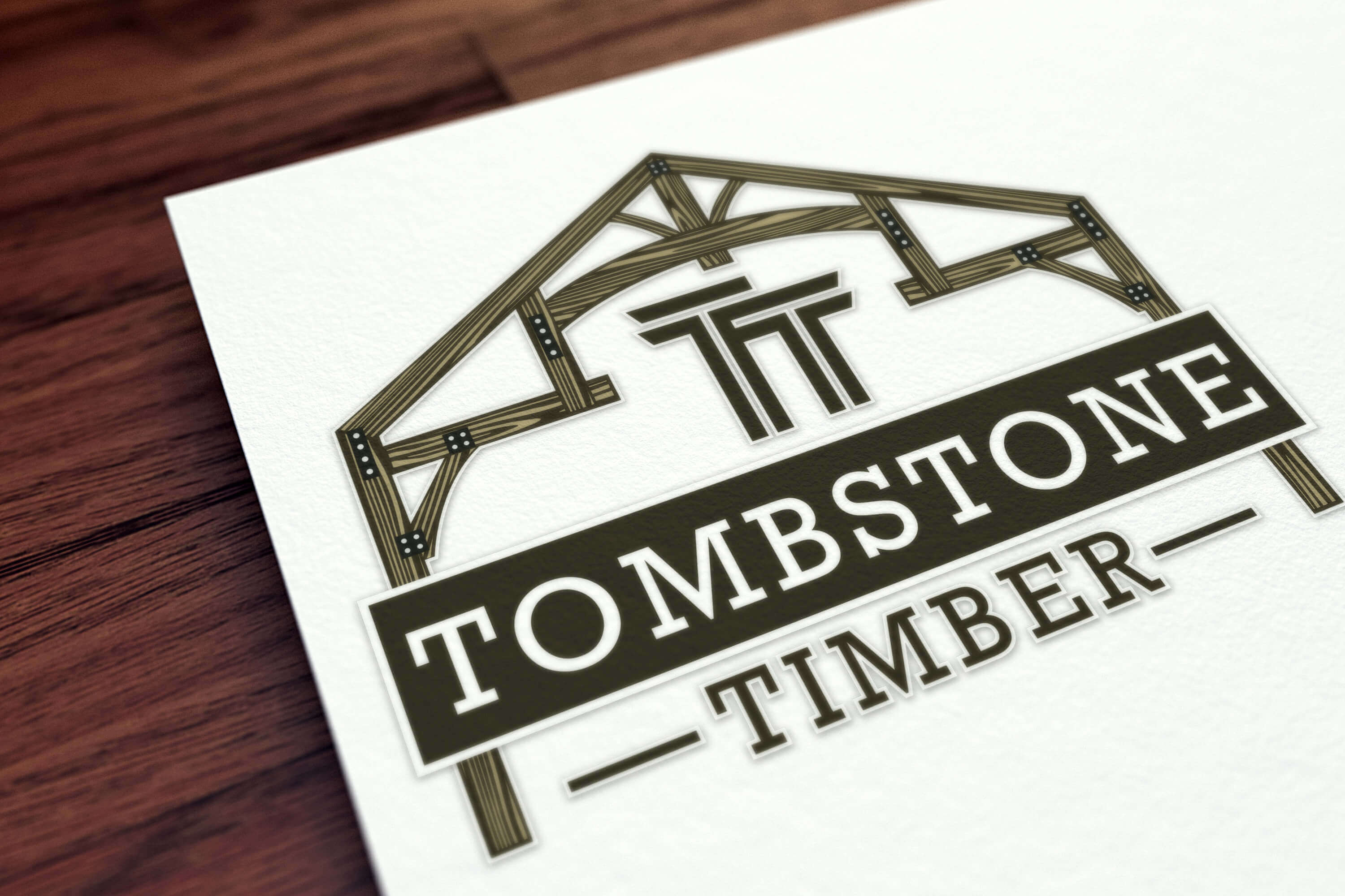 Tombstone Timber Logo Design Project