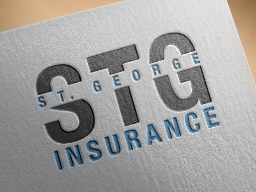 St. George Insurance Logo Design