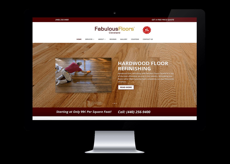 Fabulous Floors Website Design Logan, Utah