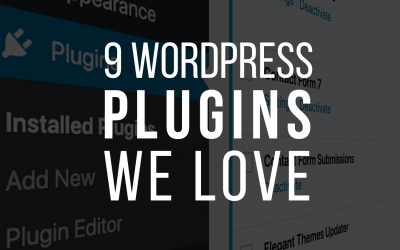 9 WordPress Plugins We Love