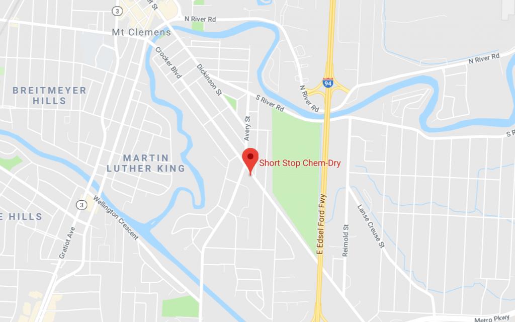 google my business listin address showing
