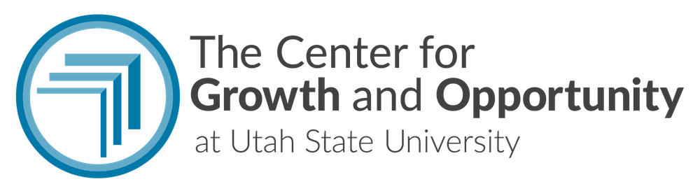 The Center for Growth and Opportunity logo Kite Media project