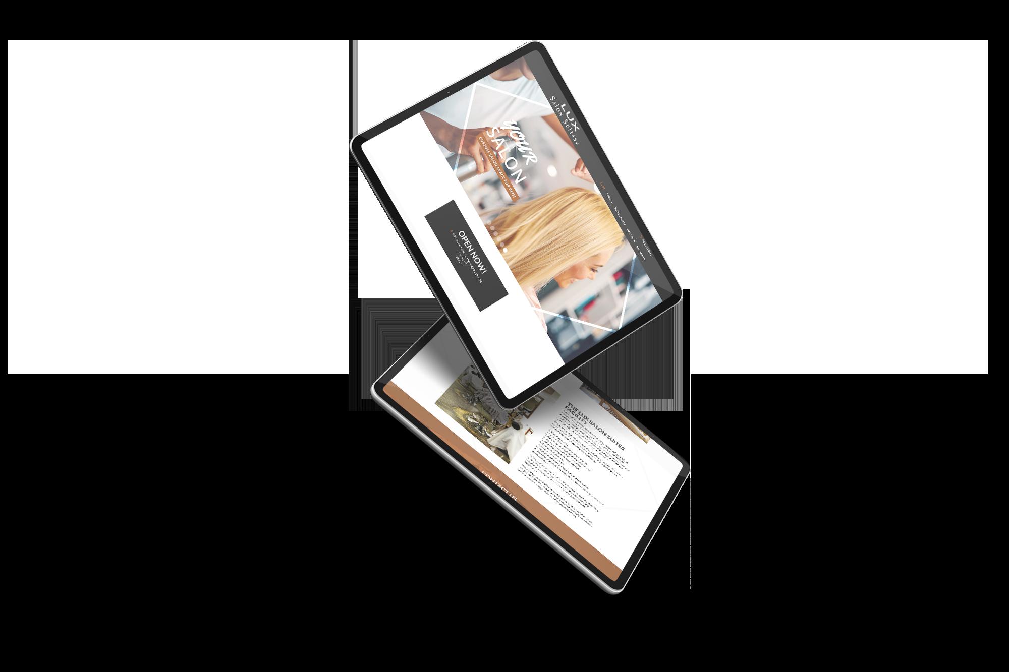 cook homes utah web design