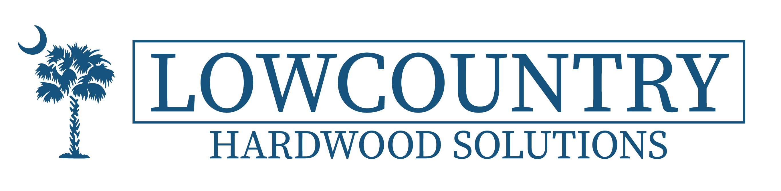Lowcountry Hardwood Solutions logo Kite Media project