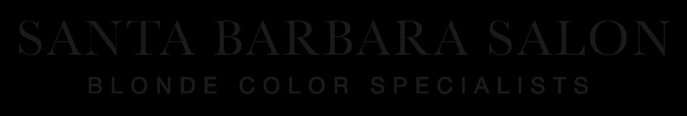 Santa Barbara Salon logo Kite Media project